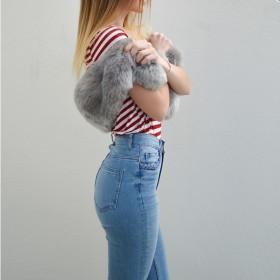 High waisted jeans för Kvinnor