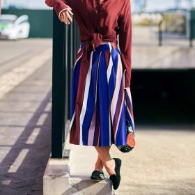 Mönstrade kjolar för Kvinnor