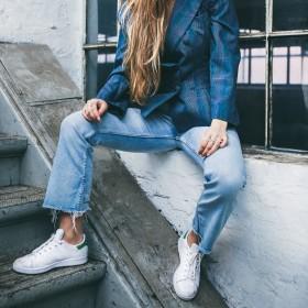 Straight jeans för Kvinnor