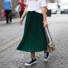 Plisserade kjolar för Kvinnor