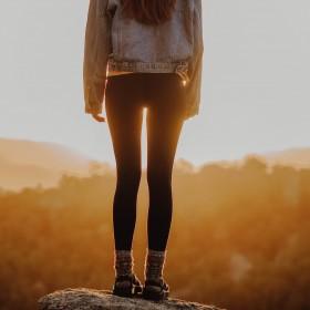 Leggings & Treggings för Kvinnor