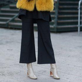 Utsvängda byxor för Kvinnor