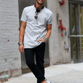 Kortärmade T-shirts för Män