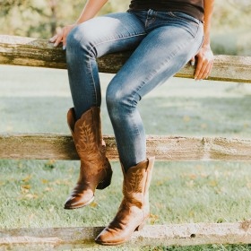 Cowboy Boots för Kvinnor