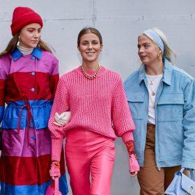 Mode färger våren och sommaren 2020