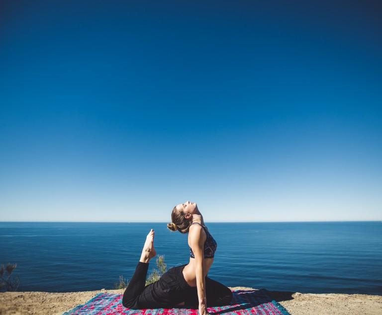 Träning för att hålla dig fit: övningar på stranden