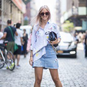Jeanskjolar för Kvinnor