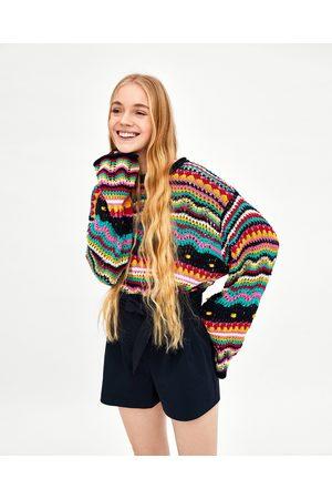 Zara BERMUDASHORTS PAPER BAG - Finns i fler färger