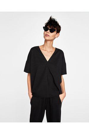 Zara OVERSIZE-T-SHIRT - Finns i fler färger