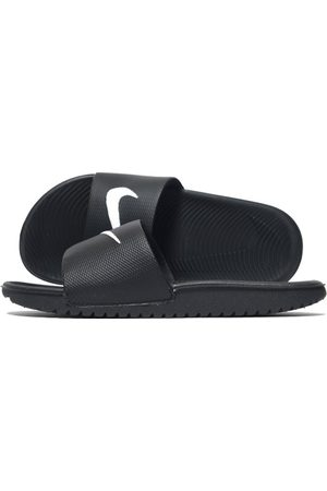 Nike Kawa Slide Children, Black/White