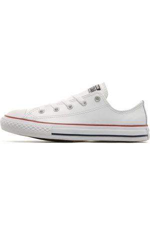 Converse All Star Ox Leather för barn, White