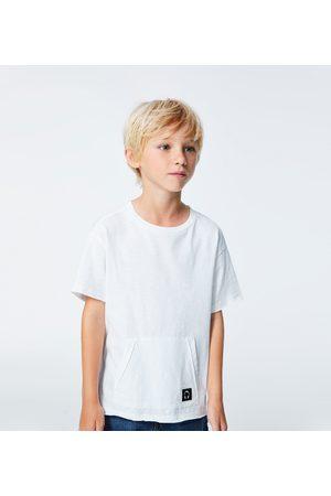 Zara Kvinna T-shirts - T-SHIRT AV BASMODELL MED MÖNSTER