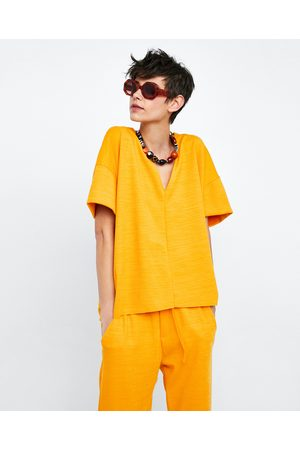 Zara OVERSIZE-T-SHIRT