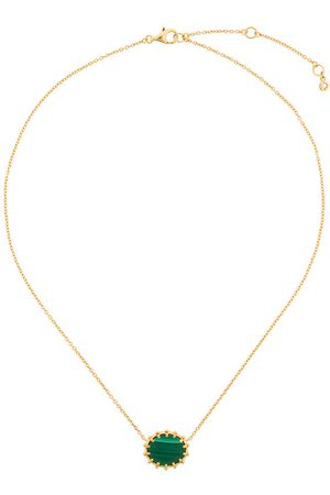 Astley Clarke Floris hängsmycke av malakit