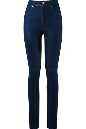 AMAPÔ Skinny jeans med hög midja