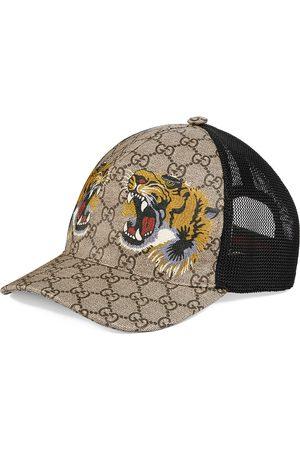 Gucci Basebollkeps med tigertryck