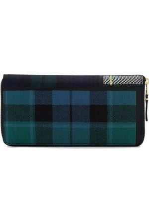 Comme des Garçons Stor skotskrutig plånbok