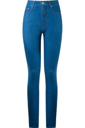 AMAPÔ Skinny-jeans med hög midja