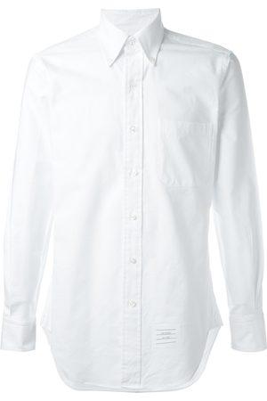 Thom Browne Klassisk långärmad skjorta i Oxford-modell