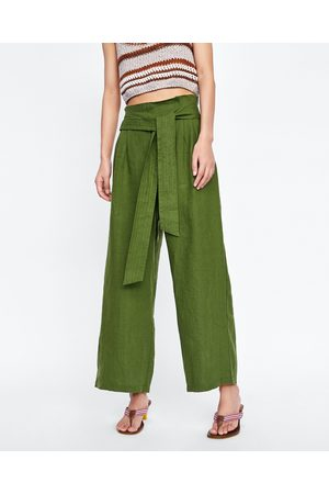 Gröna The kvinna byxor   jeans d531ac3e44b1f
