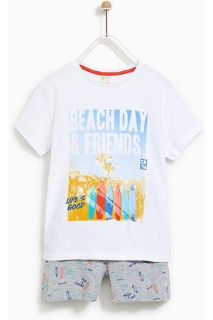 "Zara PYJAMAS ""BEACH DAY"""