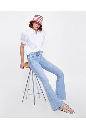Zara JEANS FLARE SUPER BLEACH