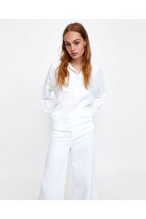 Zara vinter kvinna blusar   tunikor a3322ff34e002