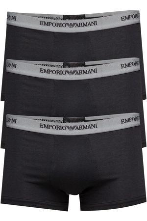 Emporio Armani Mens Knit 3pack Boxe Boxerkalsonger Multi/mönstrad