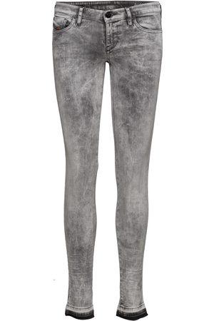 Diesel Skinzee-Low Trousers Skinny Jeans Grå