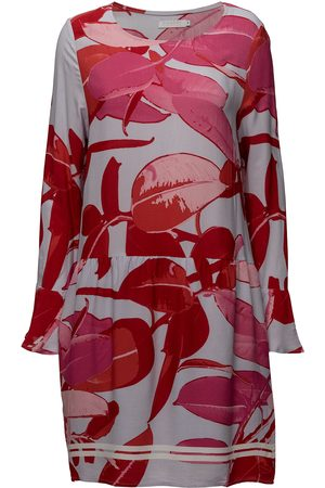 Coster Copenhagen Moss Crepe Dress W. Branch Print &