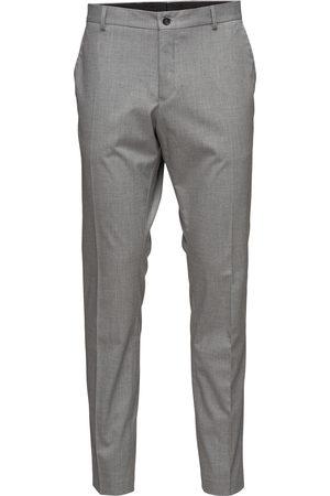 Selected Man Dressade byxor - Slhslim-Mylologan Light Grey Trs B Noos Kostymbyxor Formella Byxor