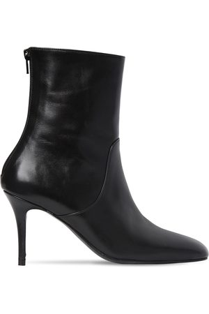 DORATEYMUR 85mm Leather Ankle Boots