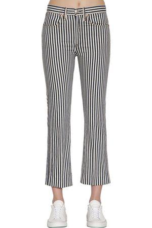 RAG&BONE Striped Vintage Straight Denim Jeans
