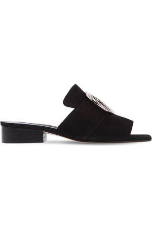 DORATEYMUR Kvinna Sandaler - 25mm Harput Suede Slide Sandals
