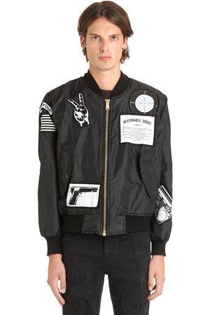 MADEWORN X JAY Z Reasonable Doubt Nylon Bomber Jacket