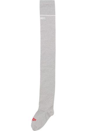 Vetements Reebok & Lurex Long Socks