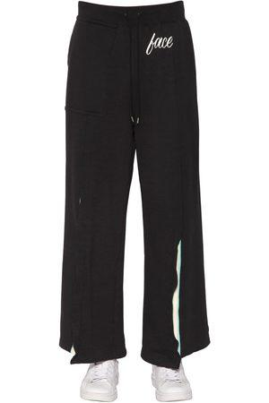 FACETASM Man Joggingbyxor - Print Jersey Sweatpants W/ Rib Inserts