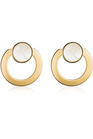 VITA FEDE Kvinna Örhängen - Moneta Open Mother Of Pearl Earrings