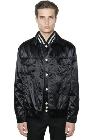 Calvin Klein Techno Satin Shirt Jacket