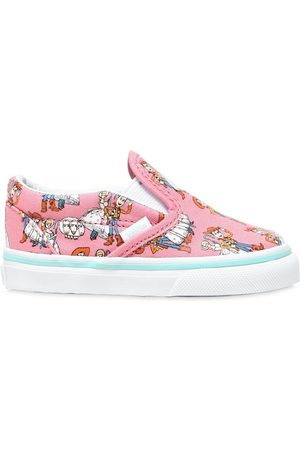Vans Woody & Bo Peep Cotton Canvas Sneakers