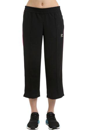 adidas Wide Leg Capri Track Pants