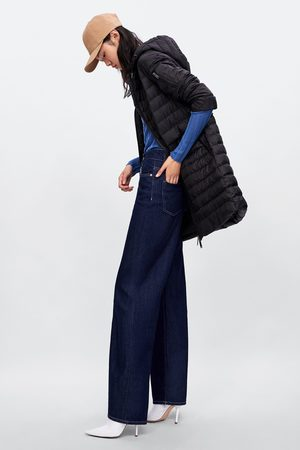 Zara Lång täckjacka