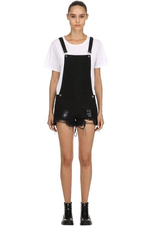 The People Vs Kvinna Jumpsuits & Playsuits - Joan Destroyed Short Overalls