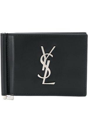 Saint Laurent Vikt plånbok med logotyp