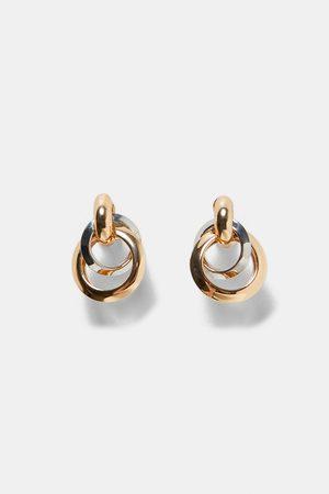 Zara MULTI-HOOP EARRINGS