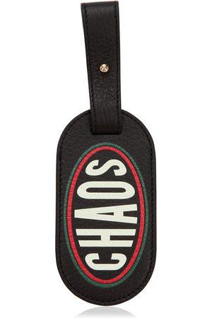 Chaos Kvinna Resväskor & Baggage - Logo Printed Leather Luggage Tag