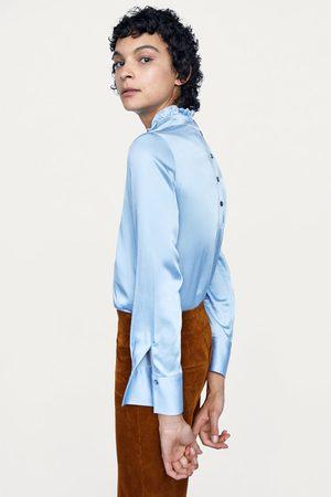 Zara utan kvinna blusar   tunikor 4a5f99e54fec9