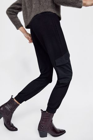 Zara COMBINED JOGGING TROUSERS