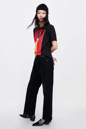 Zara T-SHIRT MED TEXT