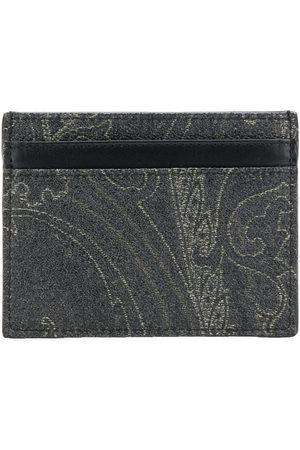 Etro Paisley-mönstrad korthållare
